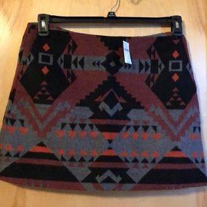 Mini skirt 60% polyester 40% wool